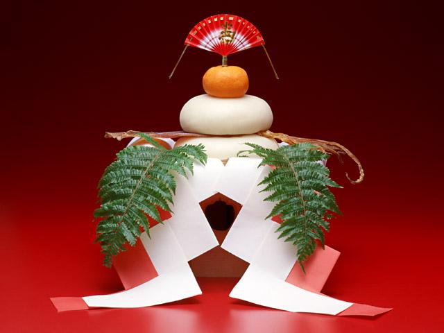 正月イメージ(お供え餅)