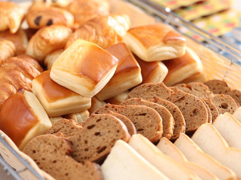 朝食(悶絶パン)