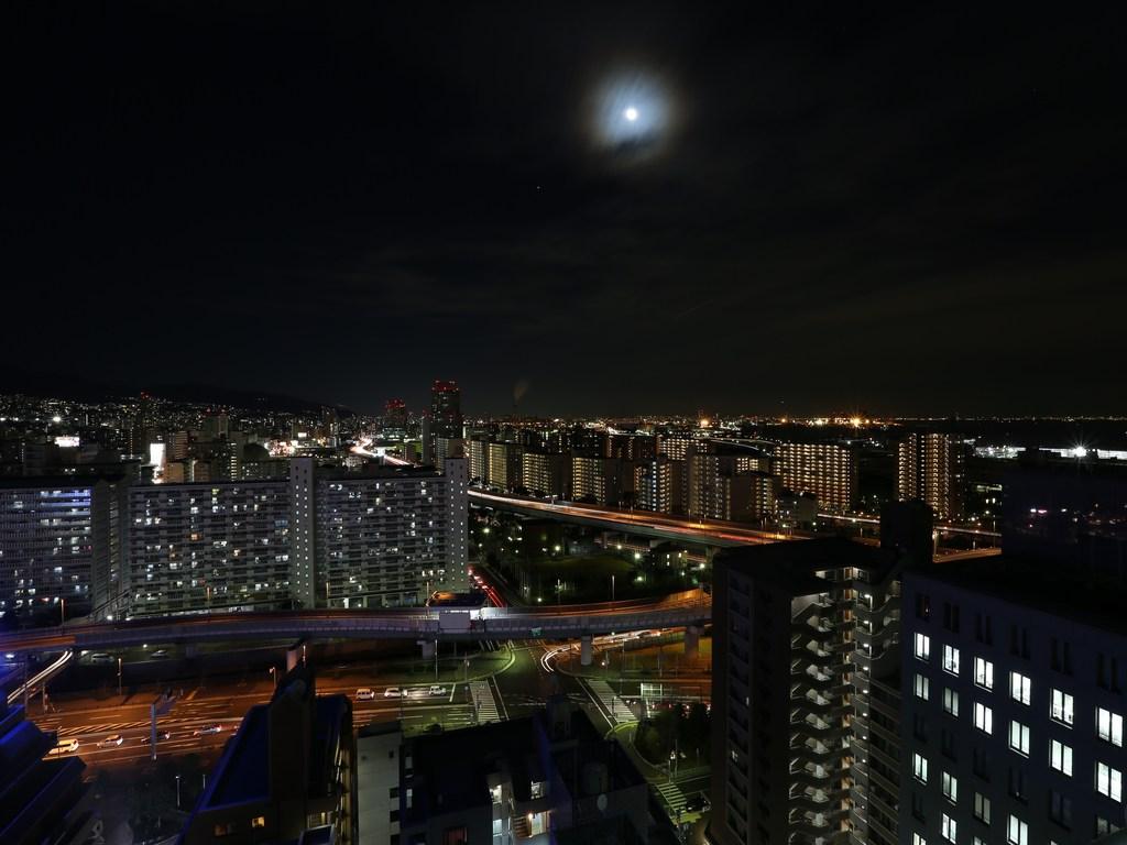 上層階からの夜景(東側)