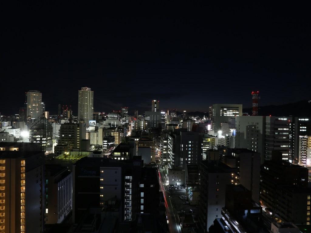 上層階からの夜景(西側)