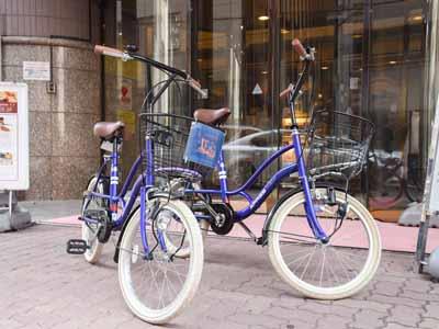 *【無料レンタサイクル】空いていれば自由に使えます。専有は5泊500円より承ります。