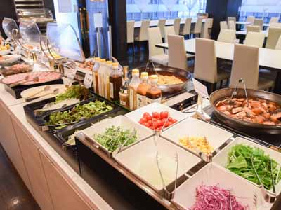*【Breakfast buffet】more than 65 kinds of dishes.