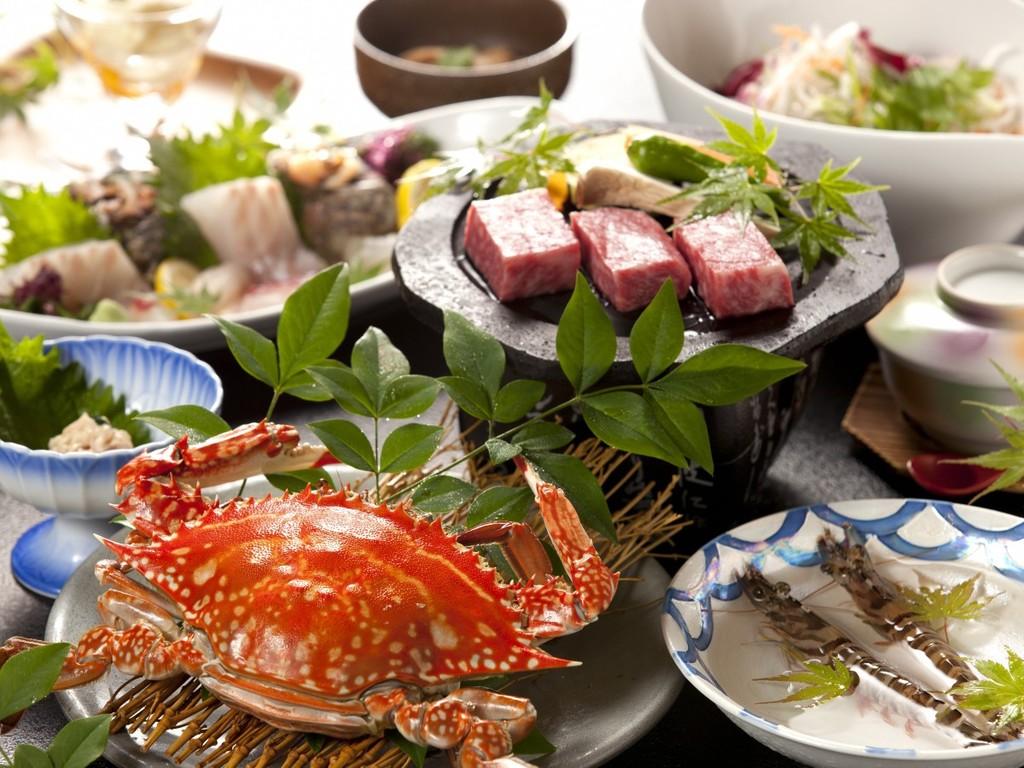【夕食】食材の宝庫プラン