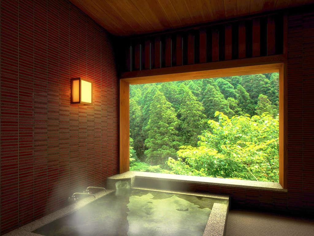 【SP】谷川岳を望む露天風呂付新装プレミアム新装客室