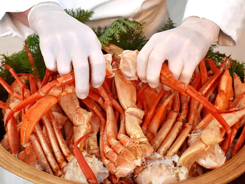 『ワールドグルメフェアー』ボイルマルズワイ蟹