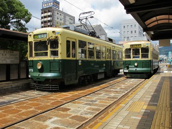 市内散策に便利な路面電車