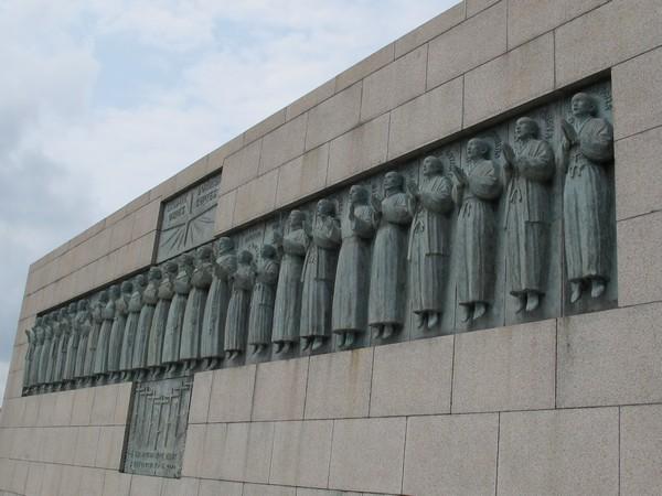 日本二十六聖人記念碑