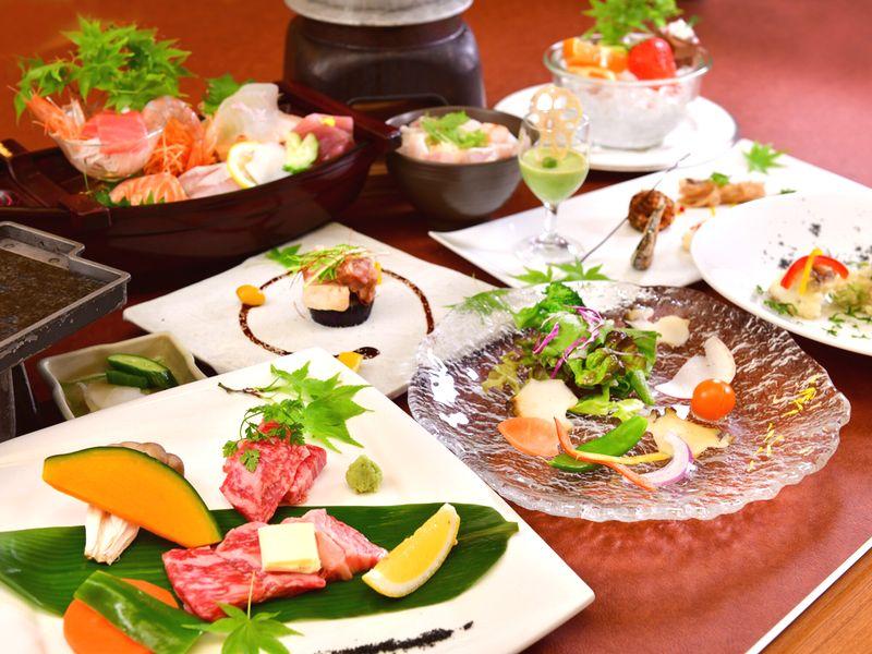 おまかせ美食のお料理例