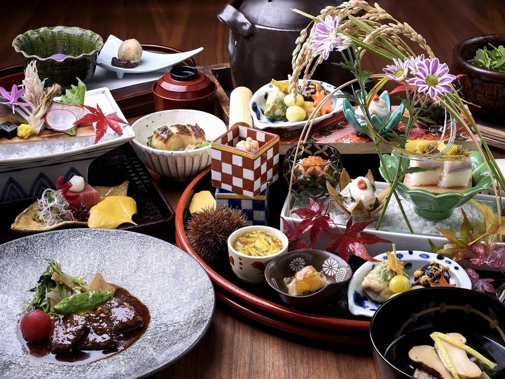 月替わり献立 日本料理懐石イメージ