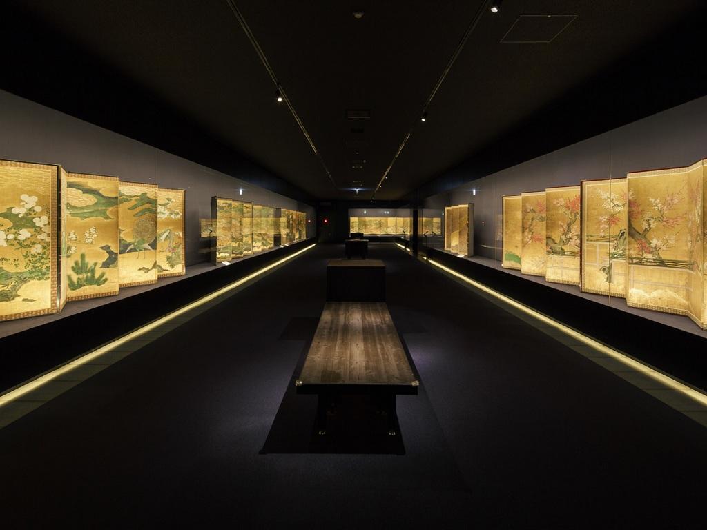 岡田美術館3F展示室イメージ