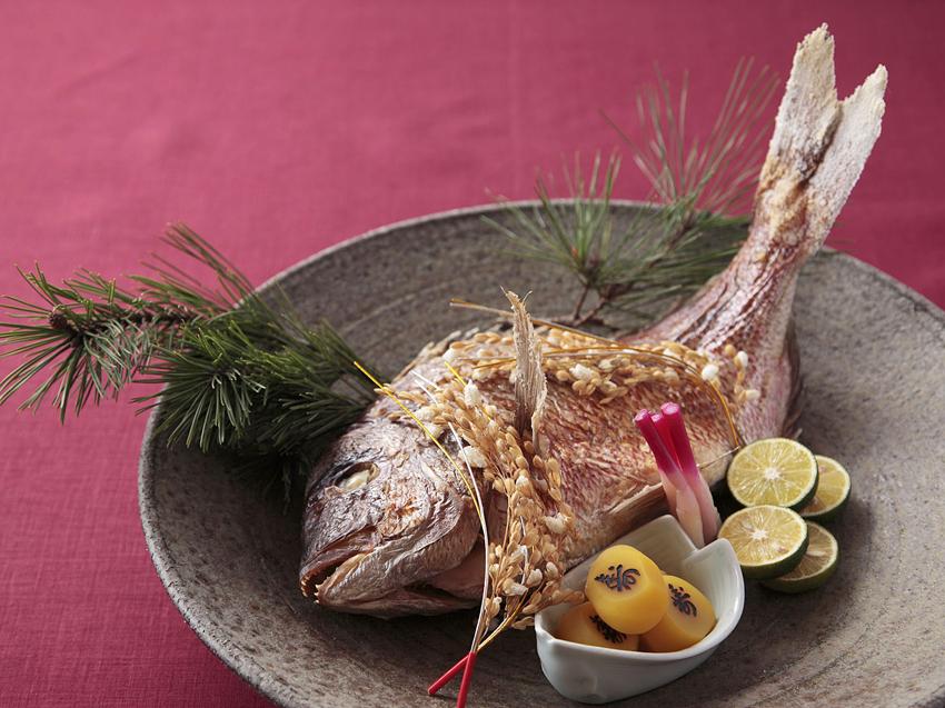 温泉ギフトプラン 焼き鯛