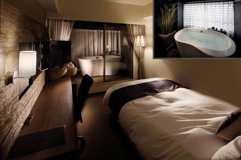 Premium bath terrace room