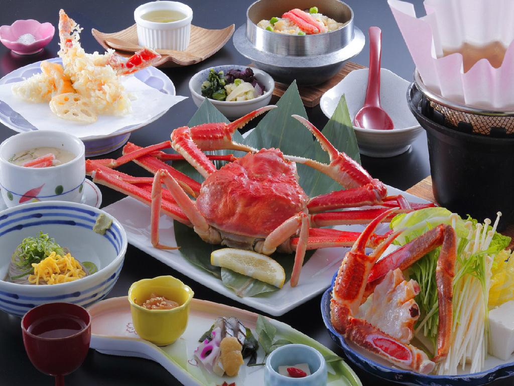 【カニの舞】ずわいカニ、カニすき鍋…カニ満喫お手頃プラン♪