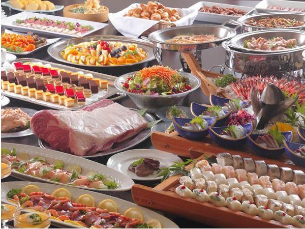 【サマーバイキング】ステーキに和食・洋食・デザート食べ放題!