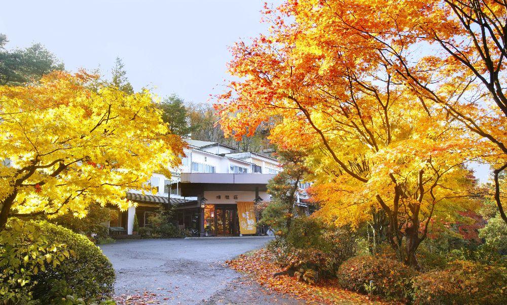 紅葉の正面玄関