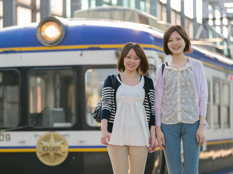 【一畑電車】渋滞知らずのローカル列車で良縁祈願の旅へ出かけよう!