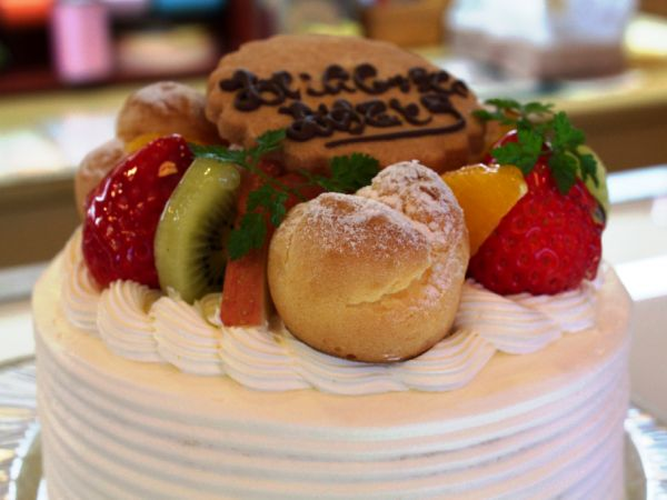 記念日にケーキでお祝い♪