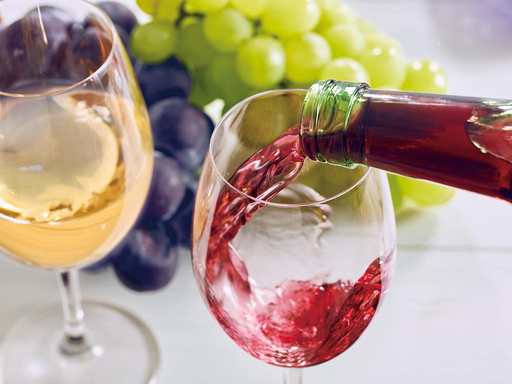 グラスワインサービス(赤または白)※写真はイメージです。
