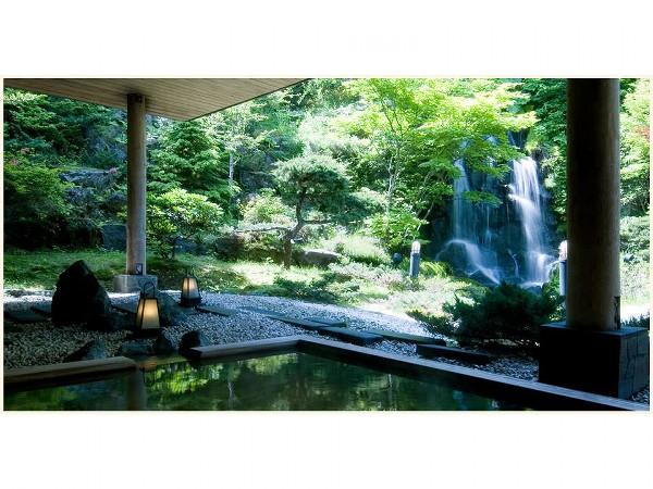 2階庭園風露天風呂