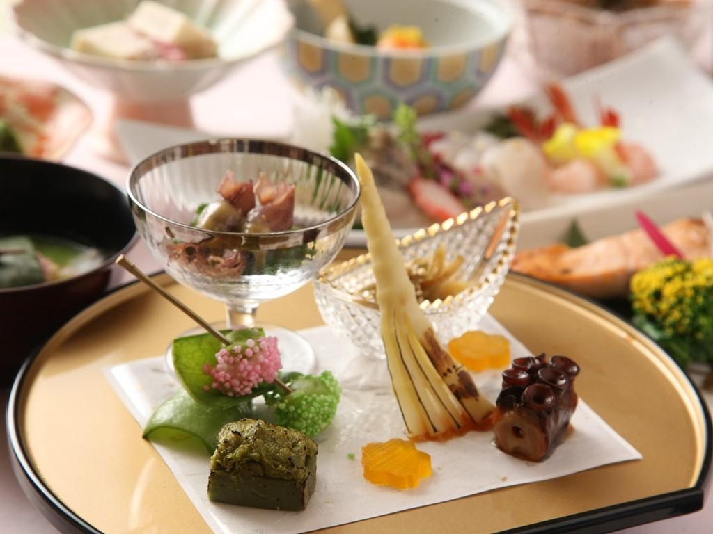 2019年季節限定 会席料理【春の膳】前菜