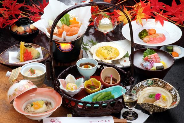 旬の食材を生かした和食会席