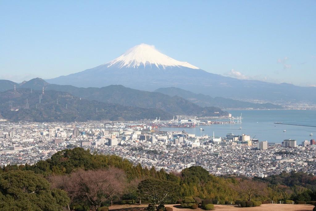 富士山からパワーと癒しを。(庭園からの眺望)