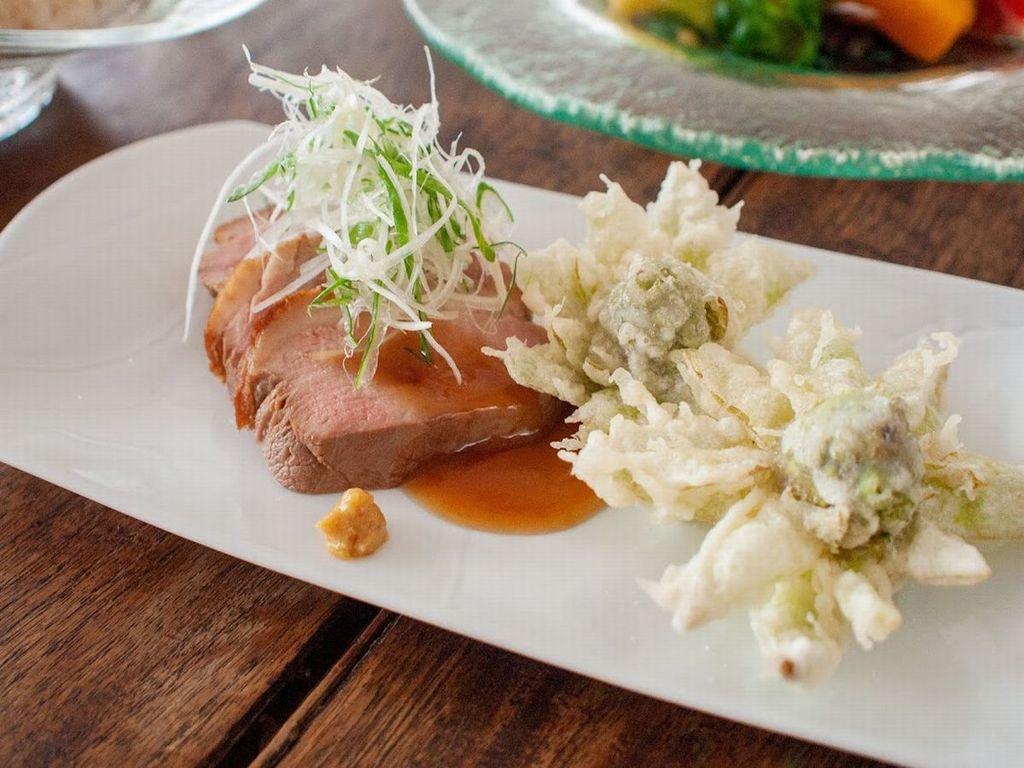 ご夕食一例 合鴨ロースト
