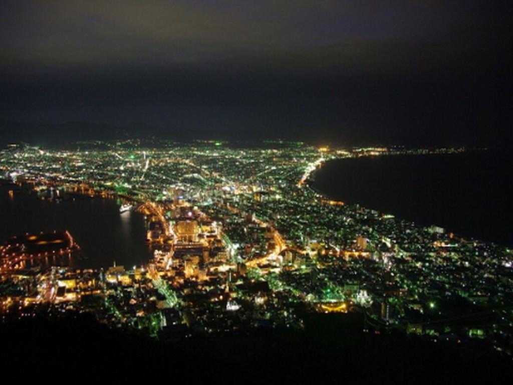 函館山夜景観賞・タクシー観光
