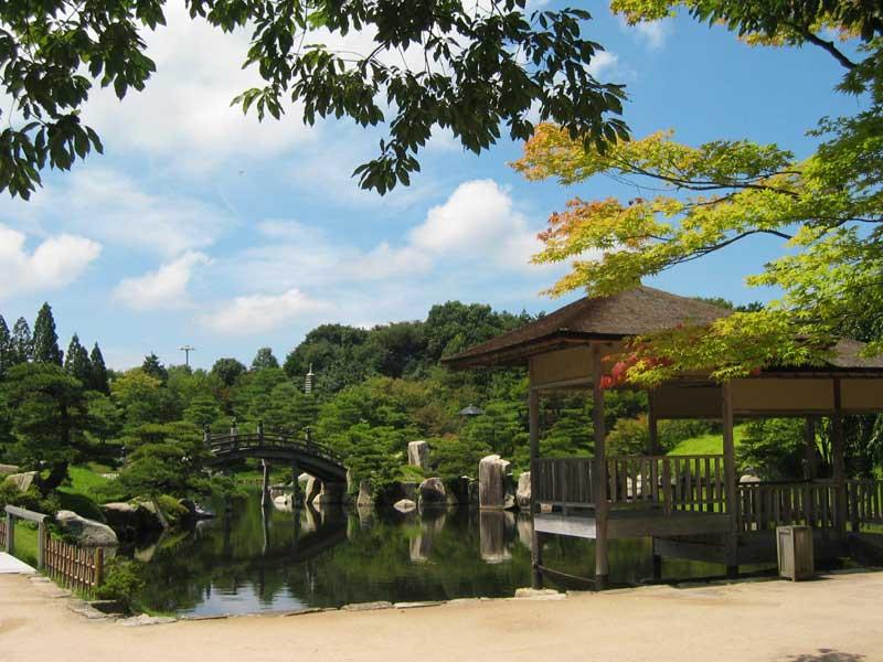 日本庭園 三景園