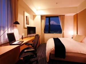 富士山が眺望できるエグゼクティブシングルルーム