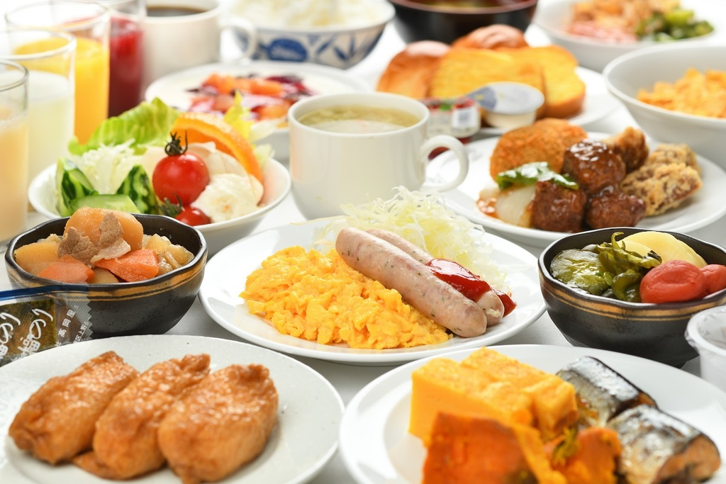 朝食無料サービス(一例)
