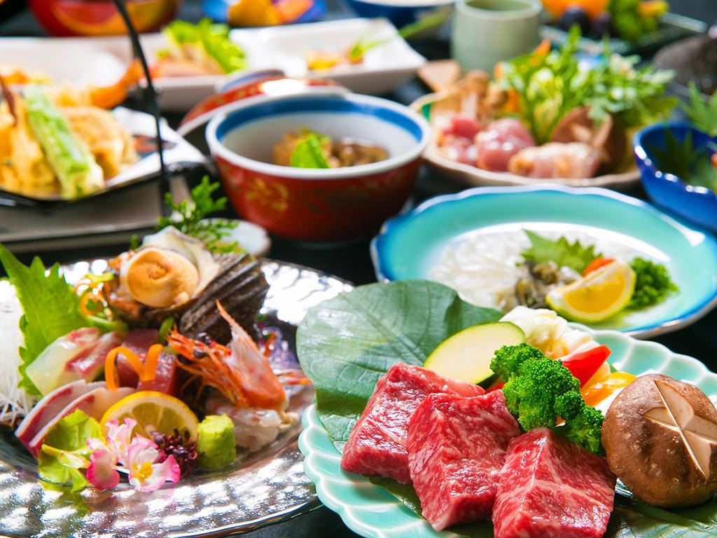 """◆豊後牛ステーキ会席◆全国トップレベルの味わい!本当の""""一級品""""を、お愉しみいただけます♪"""