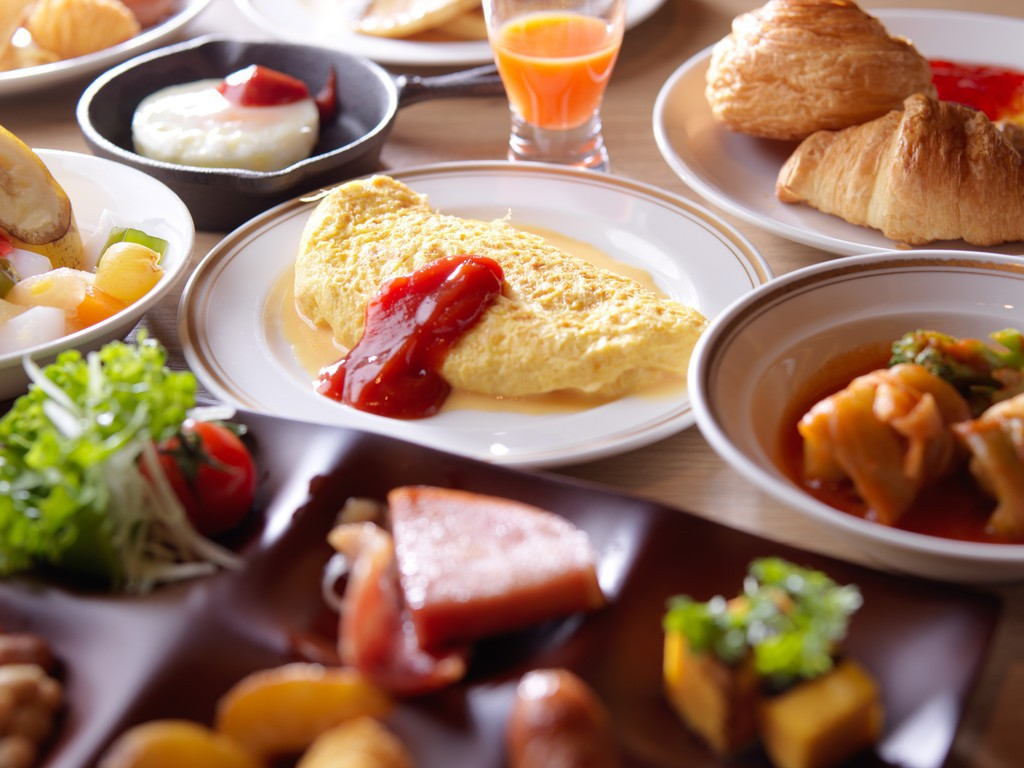 【朝食】朝食はブッフェ形式でご用意しています。