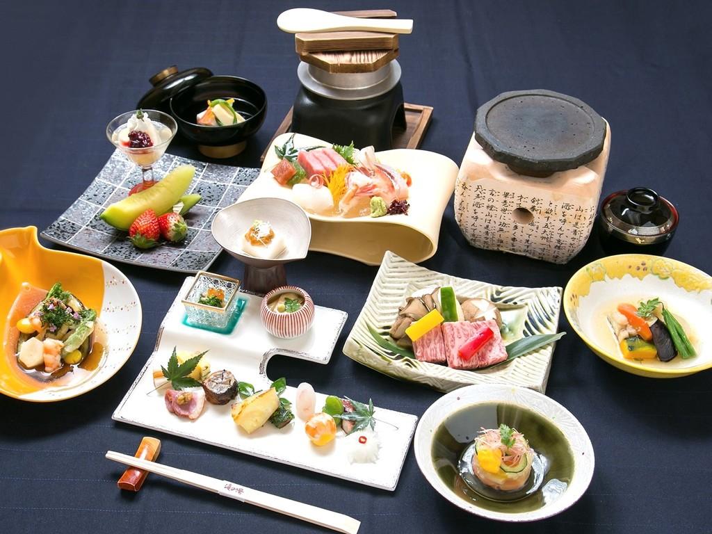 会席料理/白駒 (2016お品書き例)
