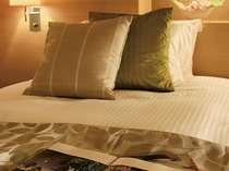 こだわりの寝具は、快適な睡眠をお約束いたします