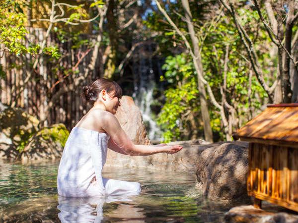 原鶴温泉は女性に嬉しいダブル美肌の湯