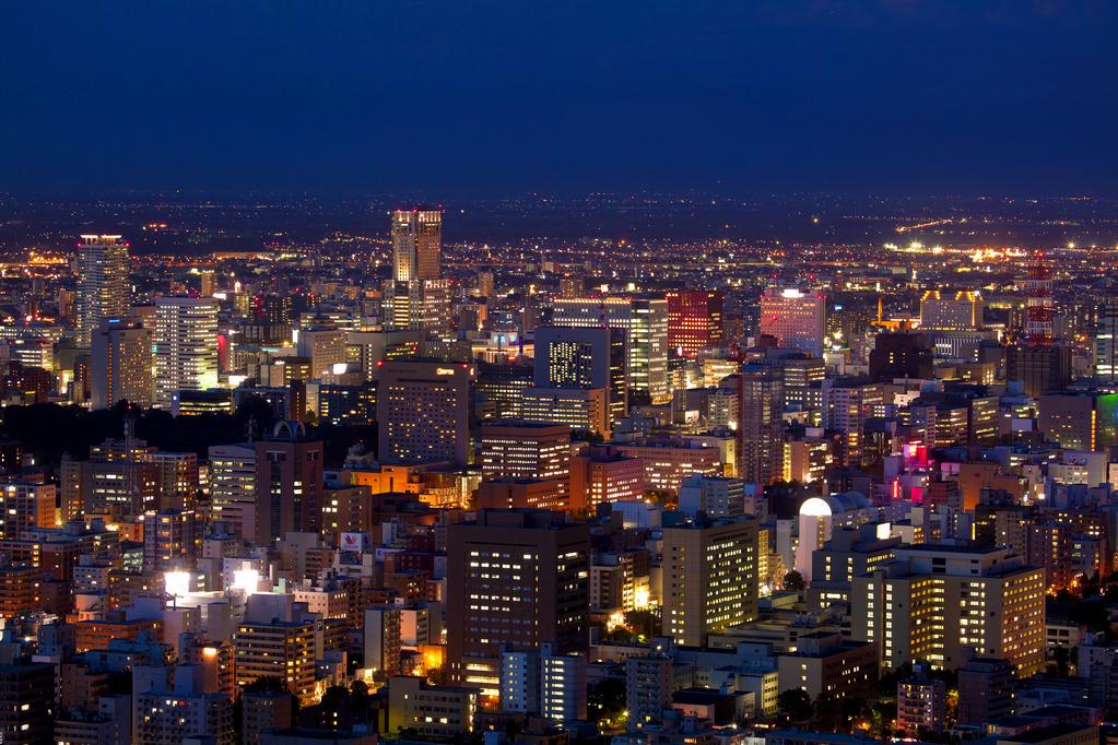 「日本新三大夜景都市」に札幌が認定!
