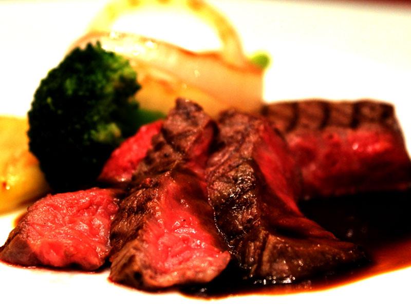 佐賀県産牛ステーキコース