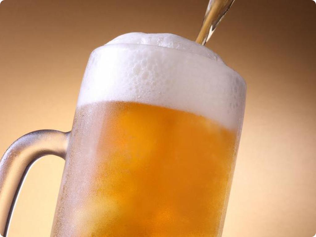 湯上りの生ビールは格別!