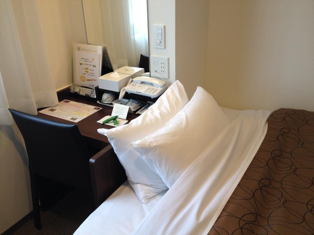 枕は2個!