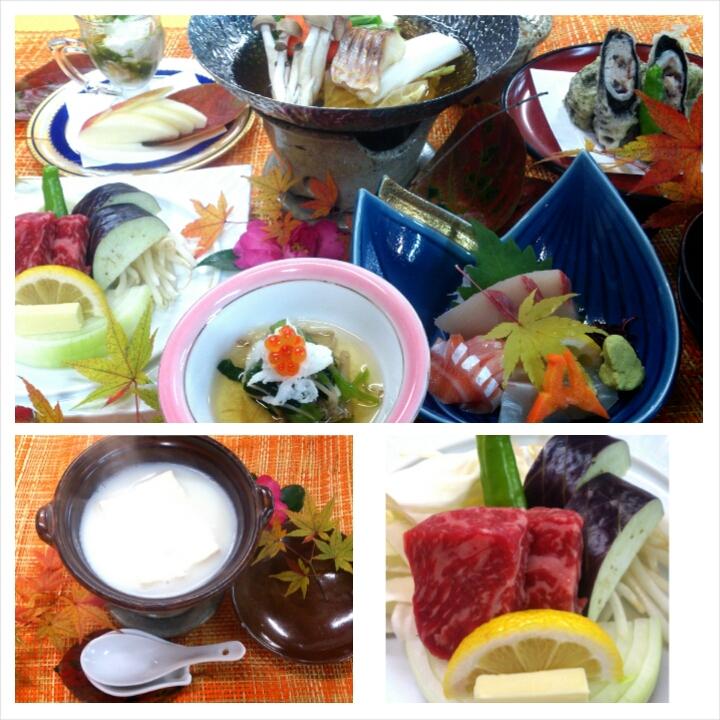旬の和会席料理 一例