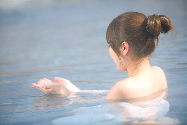 絶景露天風呂で身も心もほっこり