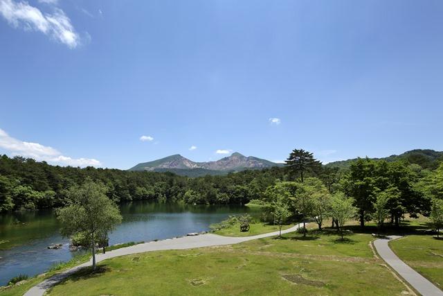 標高800mの磐梯高原は夏の避暑地として最適です