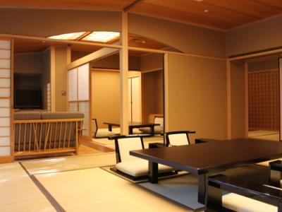 庭園・露天風呂付和室(本間+茶室)