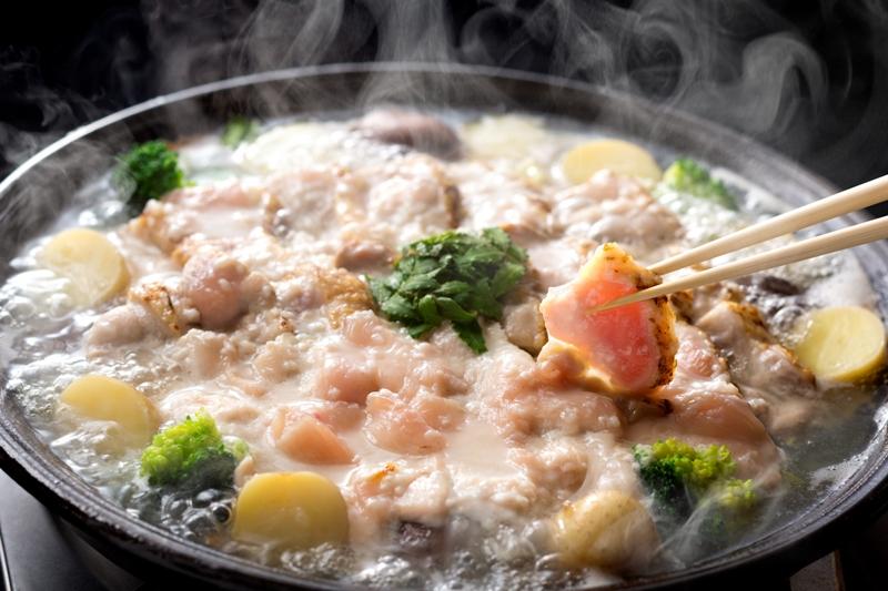 塩麹鍋 しまばら雲仙ハーブ地鶏