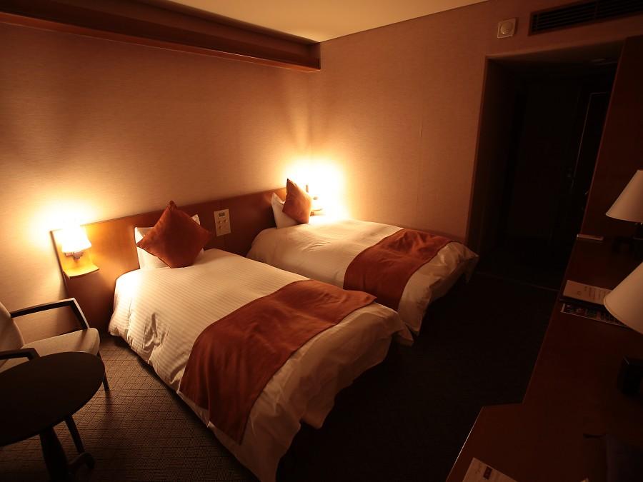 洋室ツインルーム 客室一例