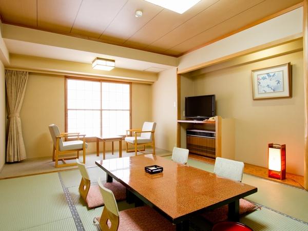 【和室10畳】スタンダードタイプの客室。