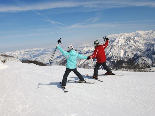 7ケ所のスキー場から選べるお得なリフト券付き!!お好きなスキー場で楽しんで♪