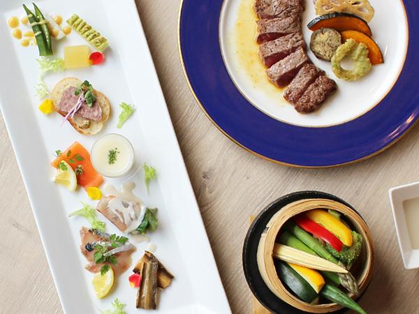 【プラン限定特別ディナー】1日10食限定の特別コース。