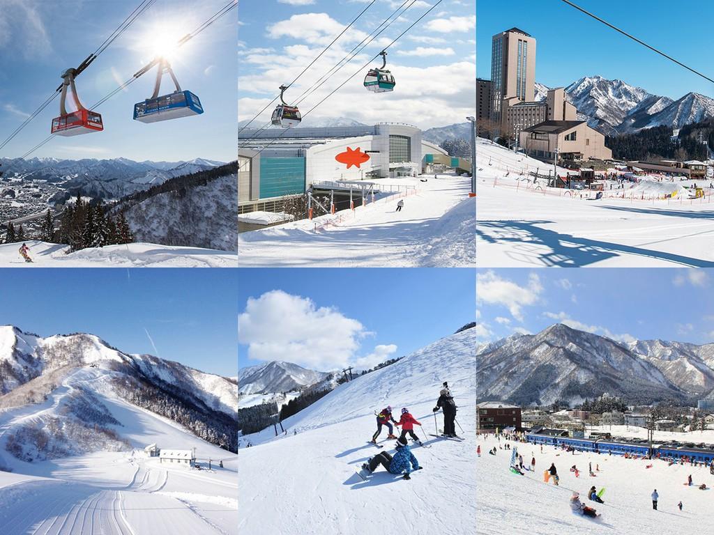 選べる多彩なスキー場